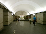 The Gorkovskaya underground station.